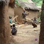 curandero en la aldea