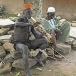 El curandero de la aldea Taneka Taneka en Benin