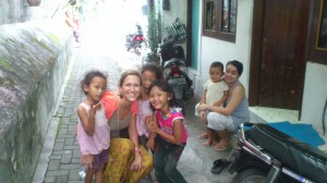 Por las callejuelas familiares alrededor del kraton