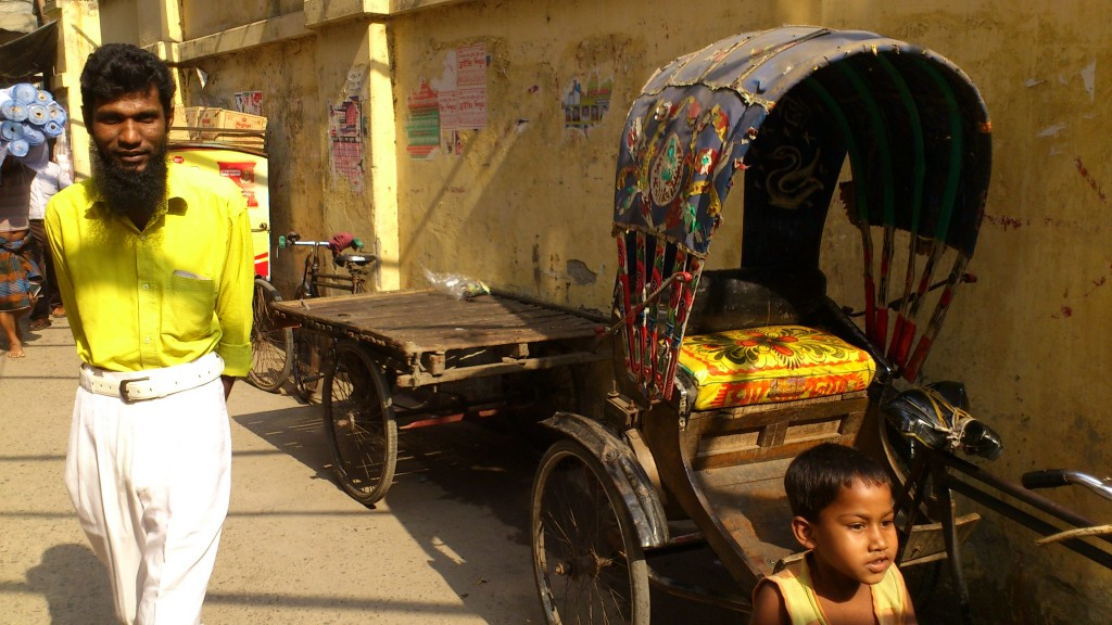 Dhaka downtown