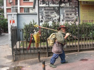 A chinese backpacker :)