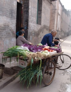 the vegetable market :)