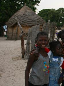 bienvenida en la isla de Sipo, Senegal