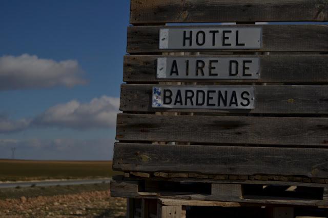 Hotel Aire de Bardenas en las Bardenas Reales (cerca de Tudela)