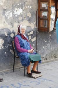 Gente local Ucrania (Lviv)