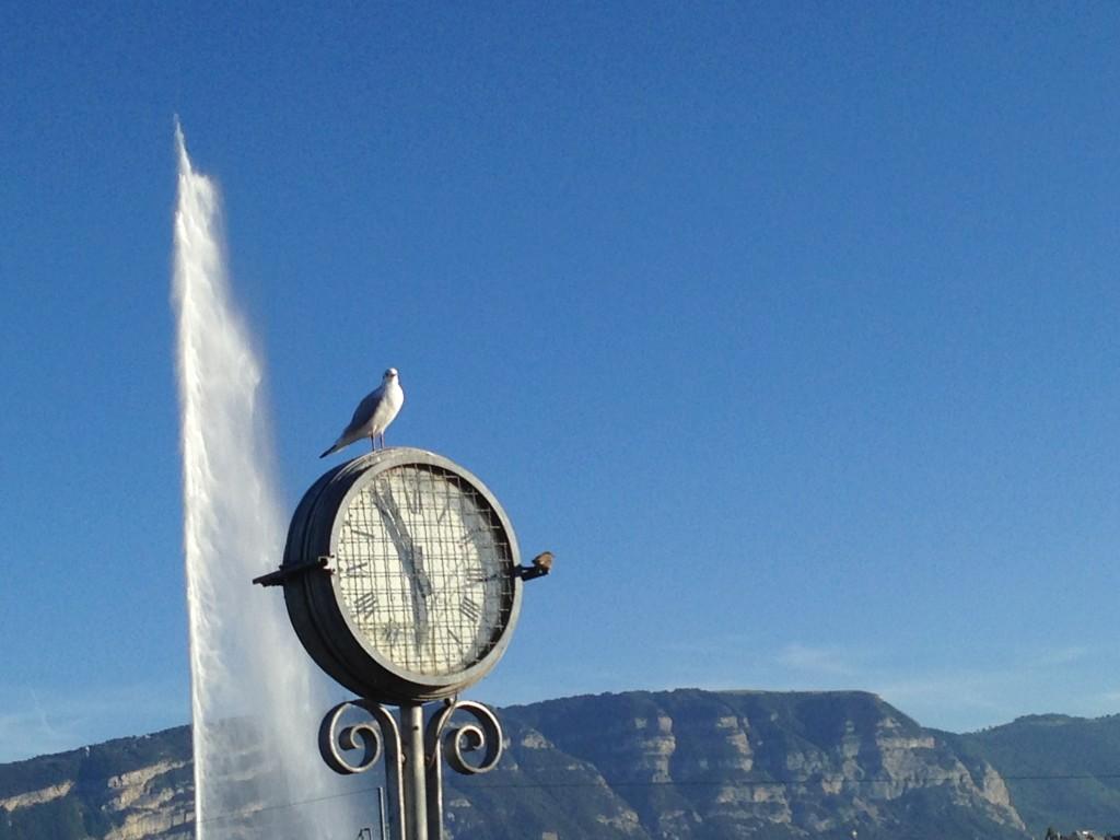 Uno de los relojes de Ginebra más conocidos