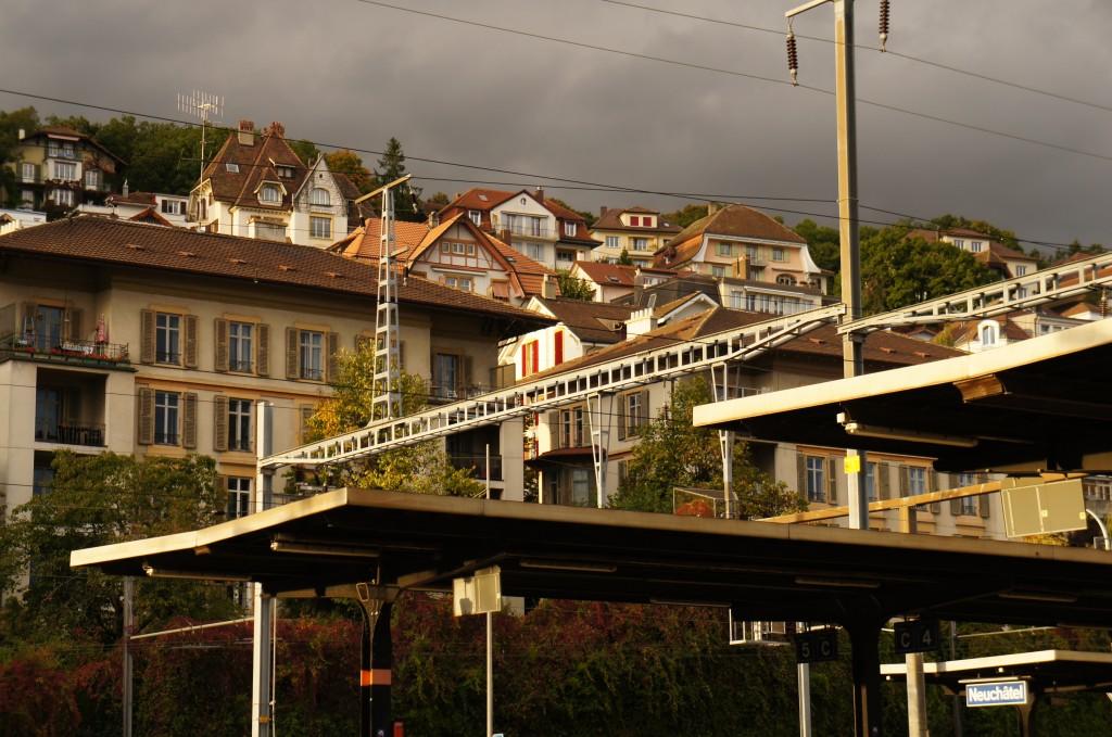 Estación de tren de Neuchatel