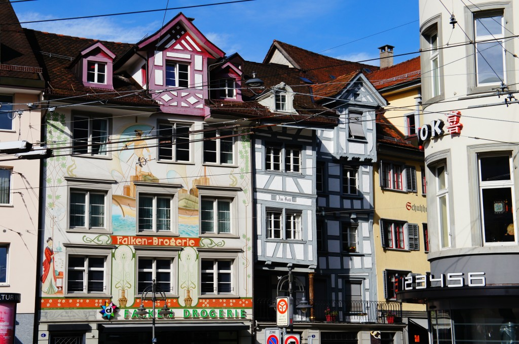 St  Gallën, parte alemana de   Suiza
