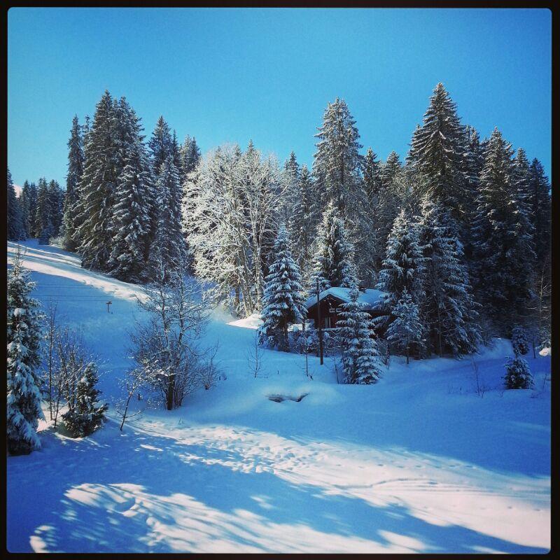 Otro chalet de Saanenmöser junto a las pistas de esquí :-)