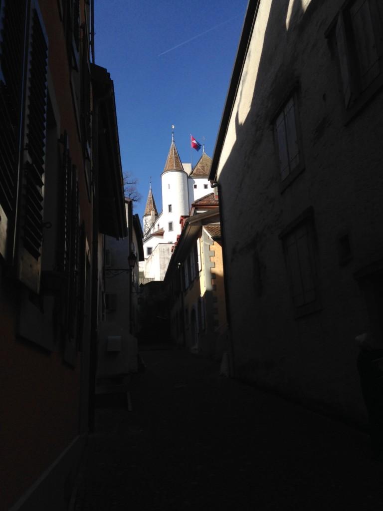 El castillo de Nyon