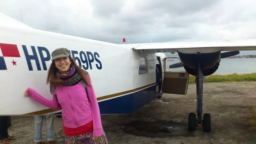 Avioneta de Air Panama a las islas de San Blas: ¡el avión más pequeño que jamás haya tomado! :-)