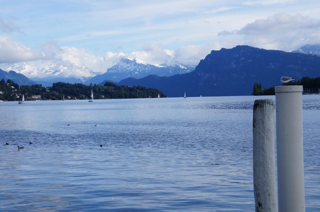 El lago de los cuatro cantones