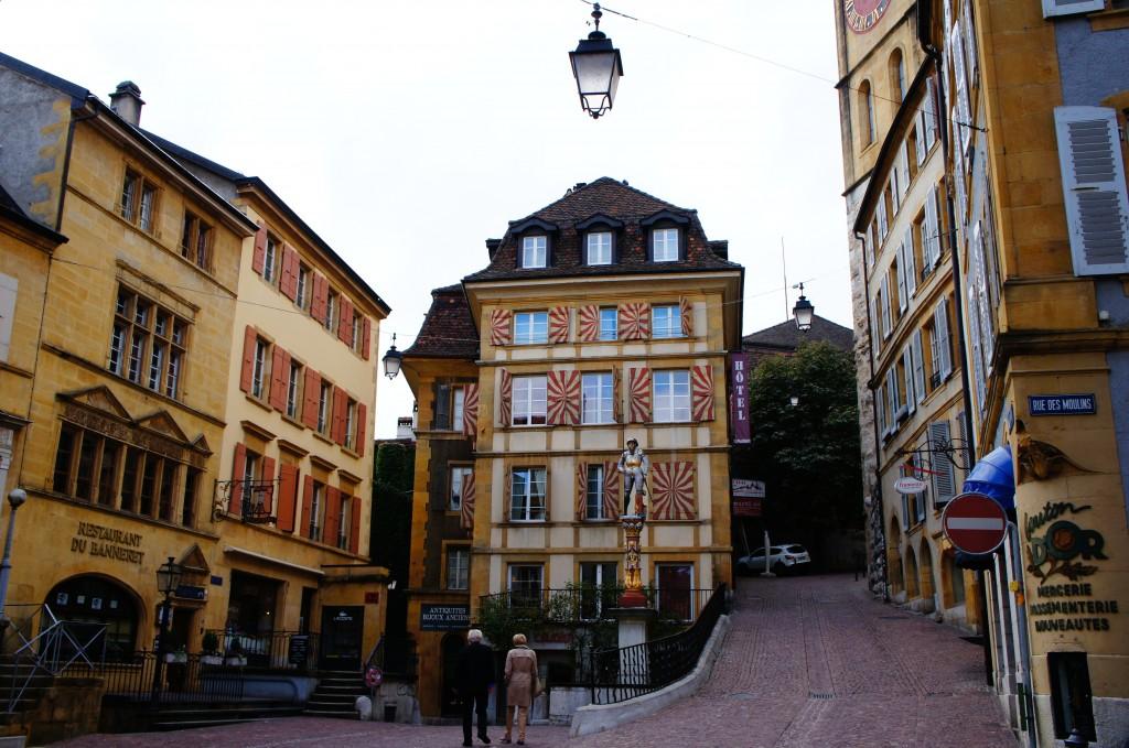 Casco viejo Neuchâtel