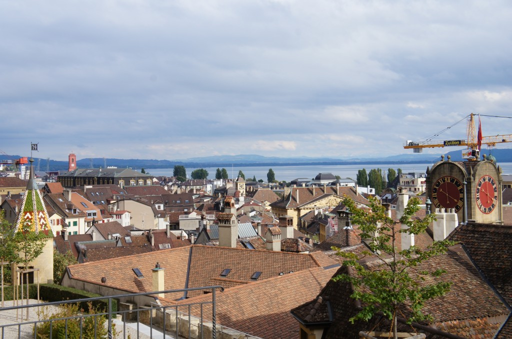Vistas de la ciudad des de la catedral