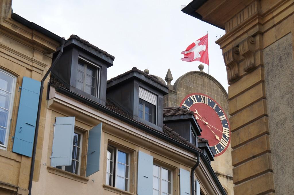 Casco viejo de Neuchâtel