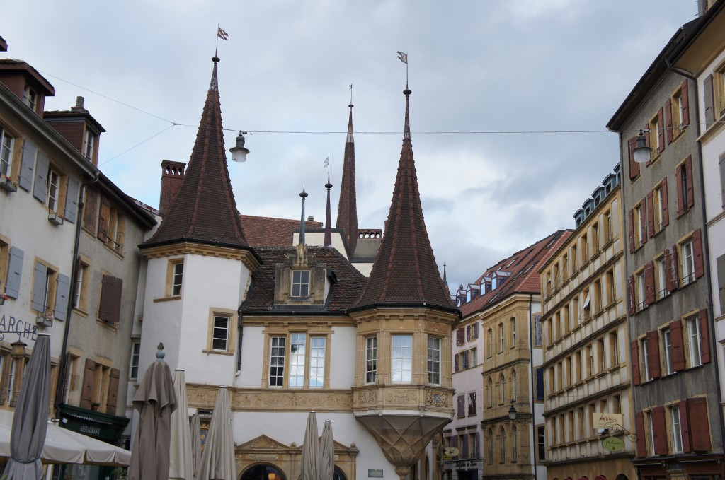 Plaza principal de Neuchâtel