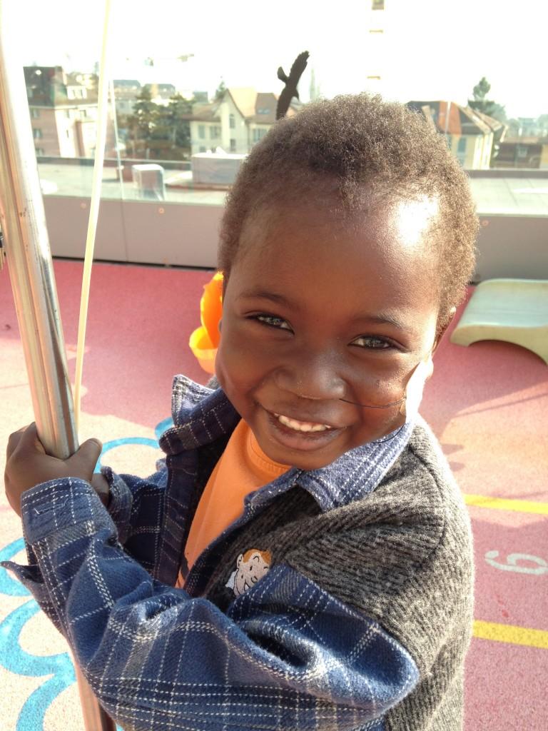 Uno de los niños a los que he tenido el lujo de cuidar