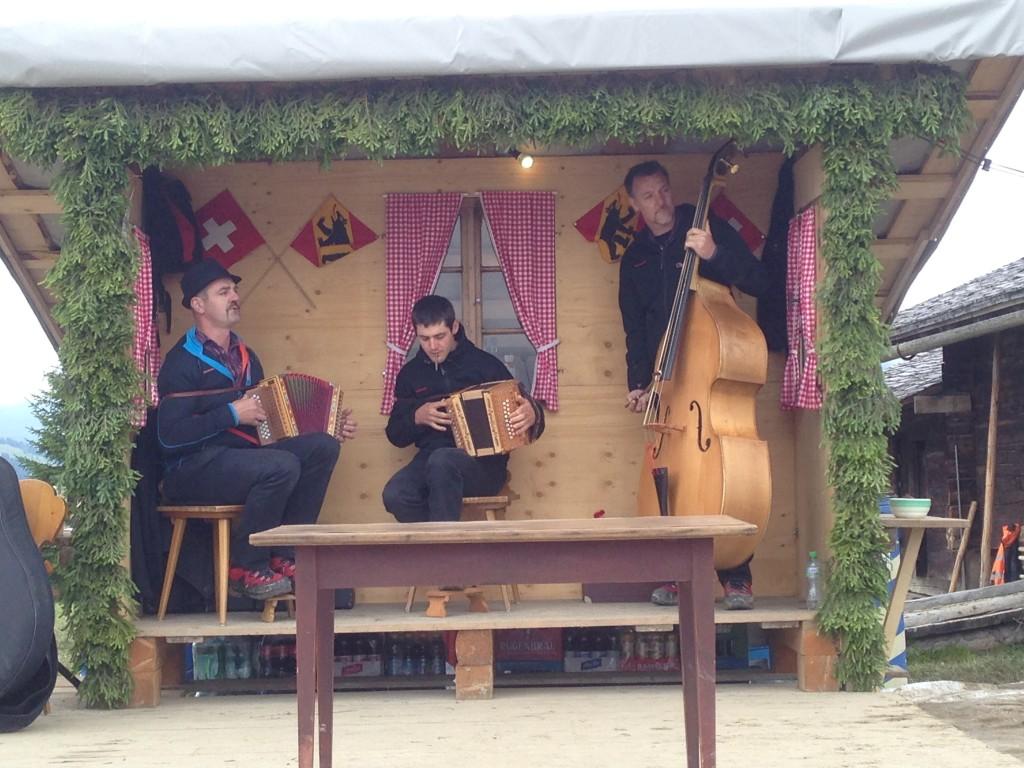 Música tradicional de los Alpes de Berna