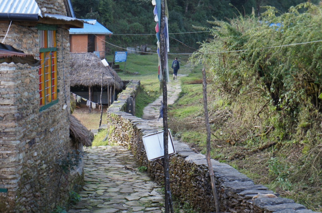 Uno de los pueblos donde nos quedamos dos noches