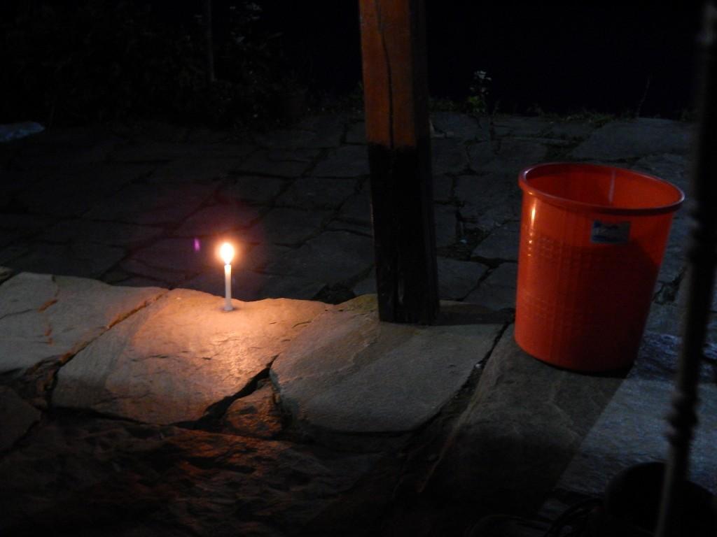 A la luz de las velas por las ncohes