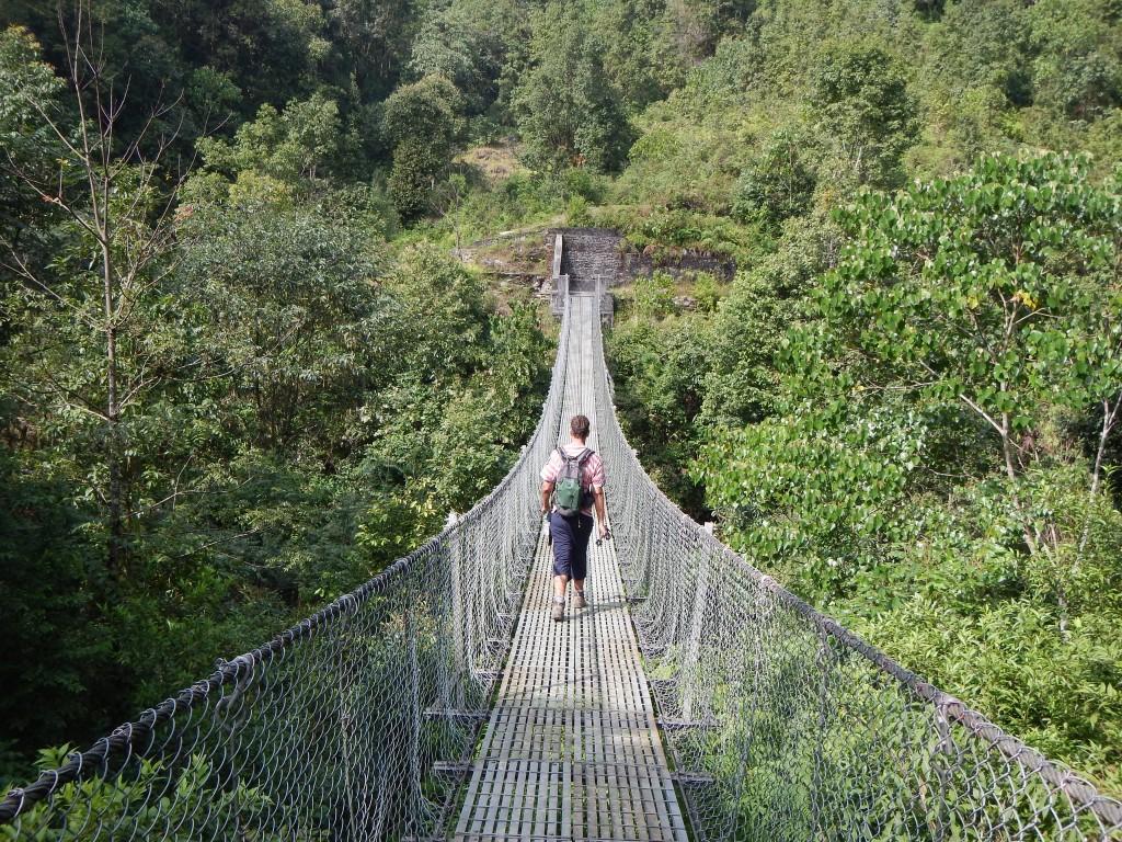 Puentes típicos de la región