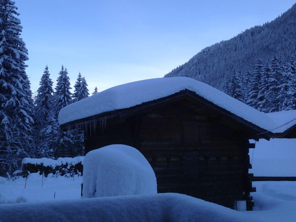 amanecer en el Mont Blanc (Francia)